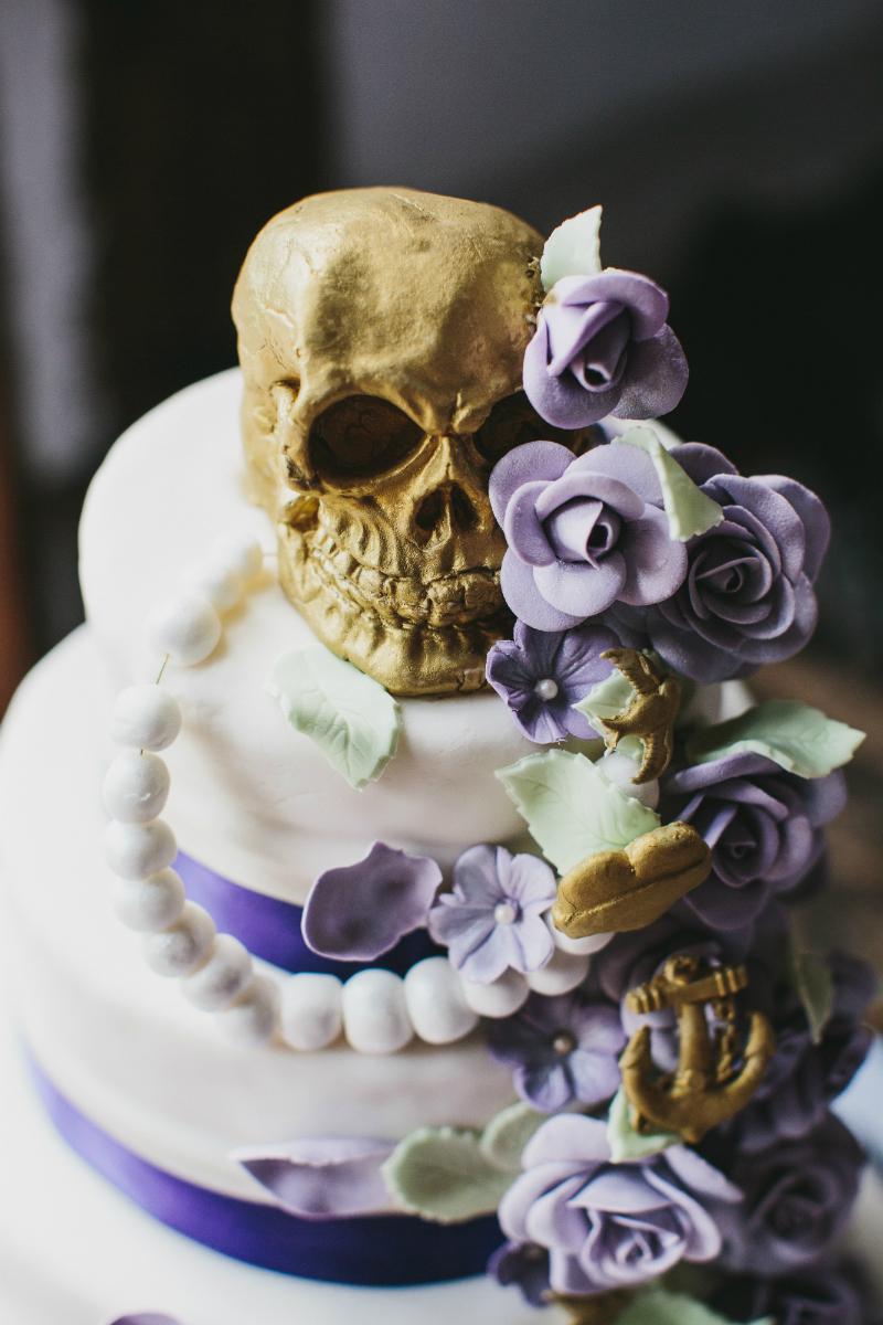 Rockabilly Bakery Alternative wedding cakes The Eclectic